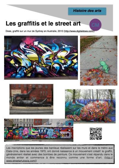 Les graffitis et le street art
